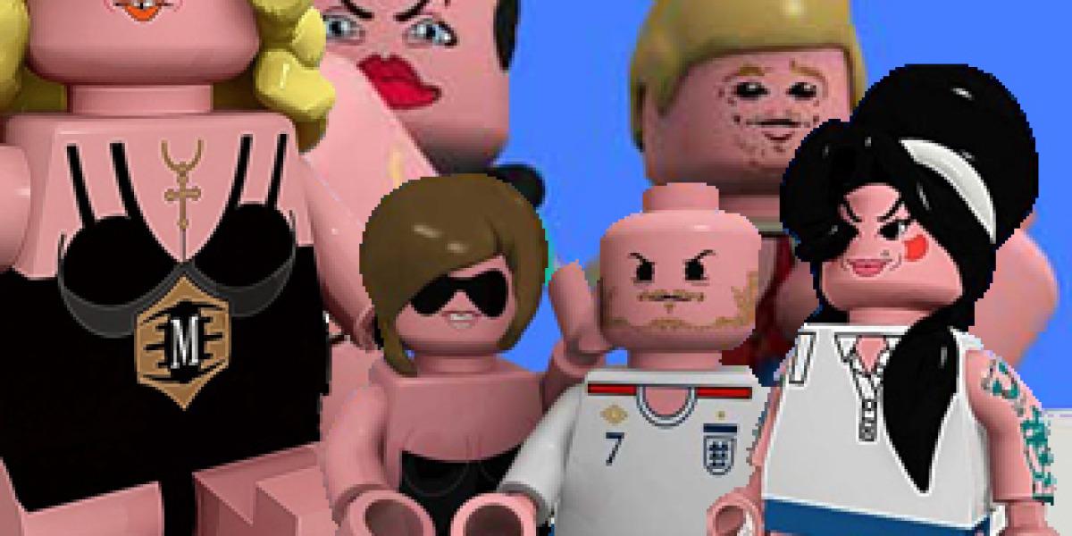 Madonna y Amy Winehouse ya son figuras de LEGO