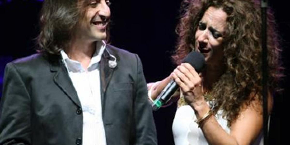Rosario y Antonio Carmona en concierto