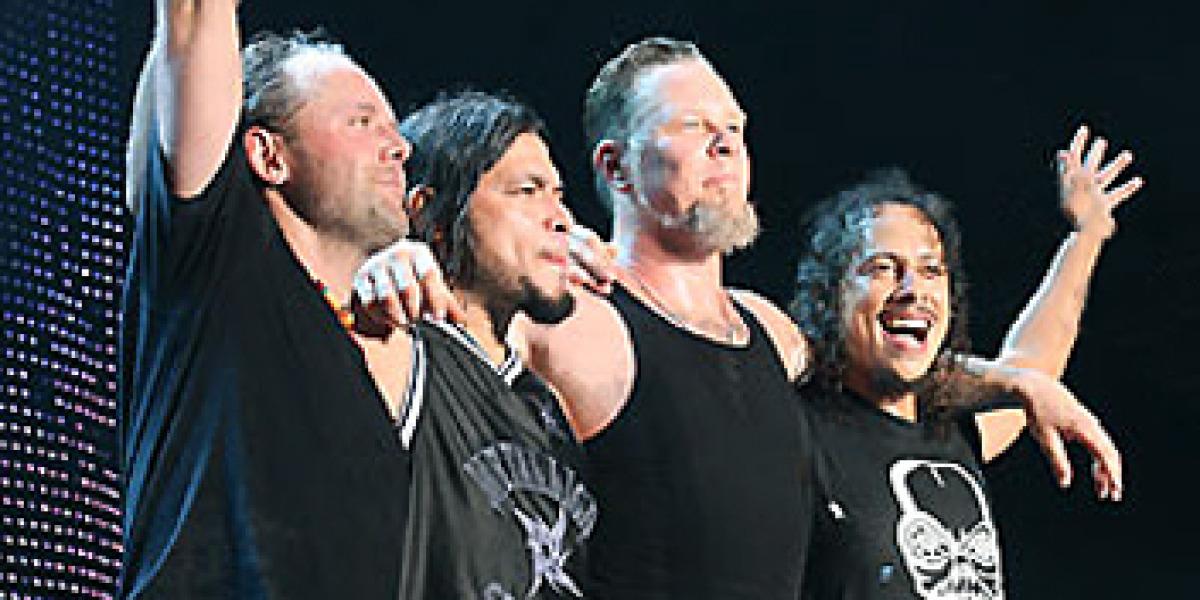 Metallica en concierto