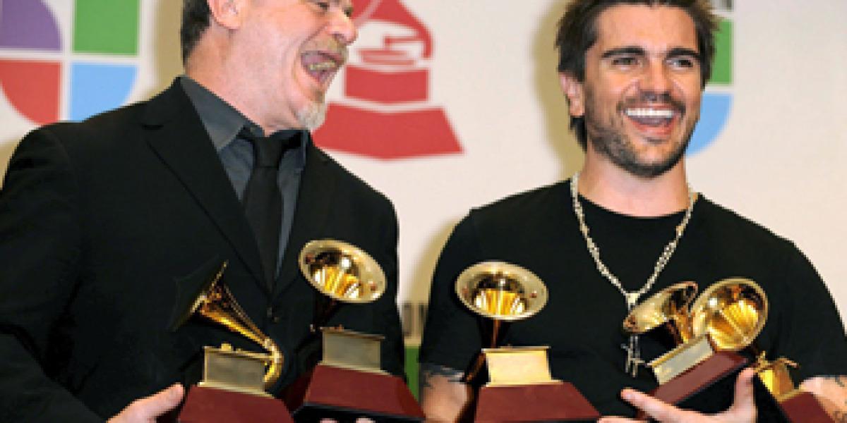 Juanes el gran triunfador de los Grammy Latino 2008