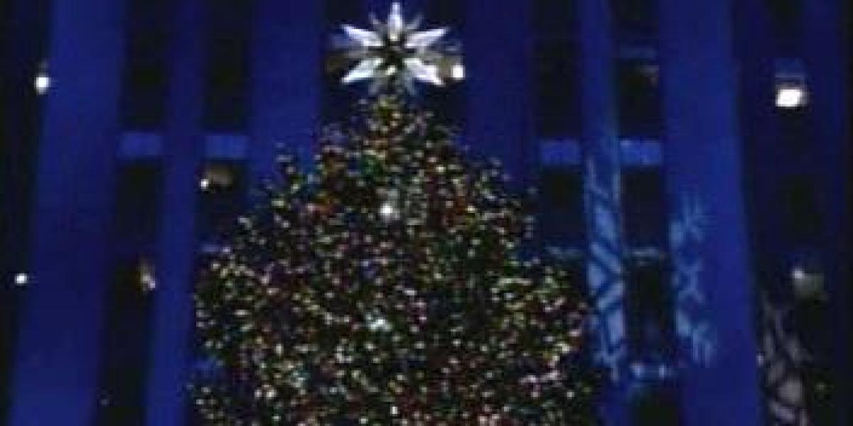 El encendido del Rockefeller Center