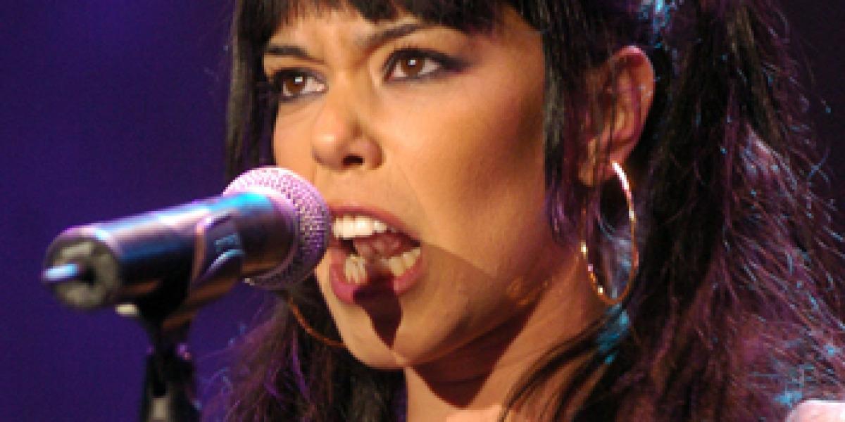 Beatriz Luengo en concierto