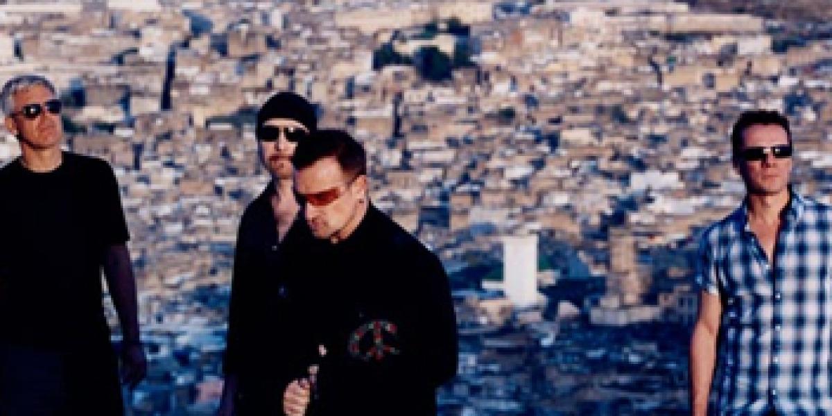 U2 en una imagen promocional