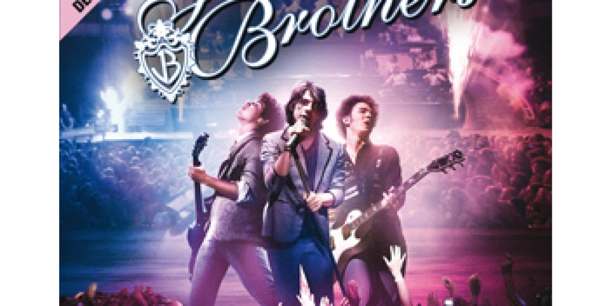 Cartel del concierto de Jonas Brothers el 13 de junio de 2009