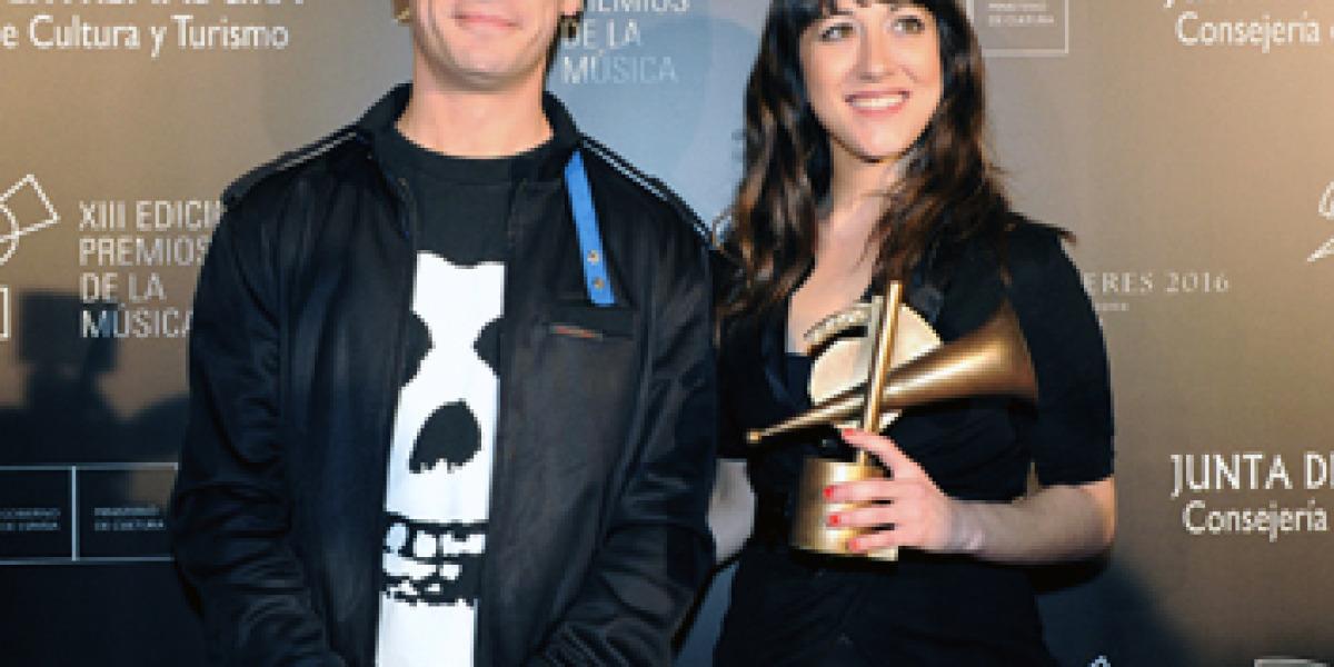 Nena Daconte en los XIII Premios de la Música