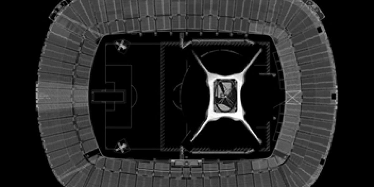 Escenario de U2 en el Camp Nou de Barcelona