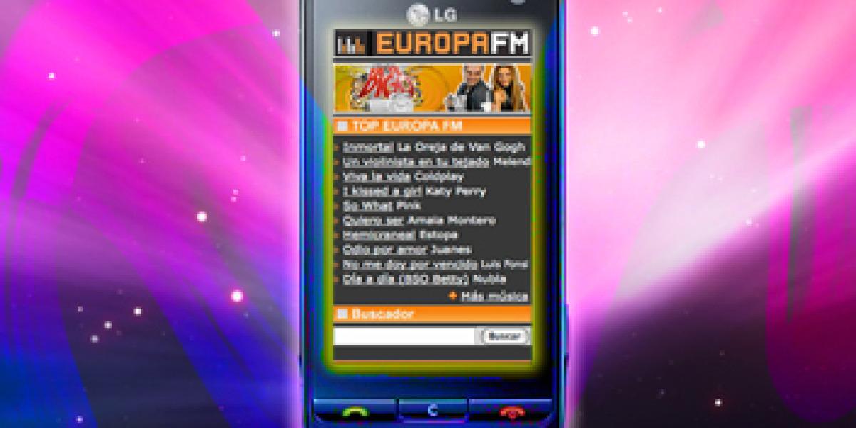 Europa FM en tu móvil Movistar