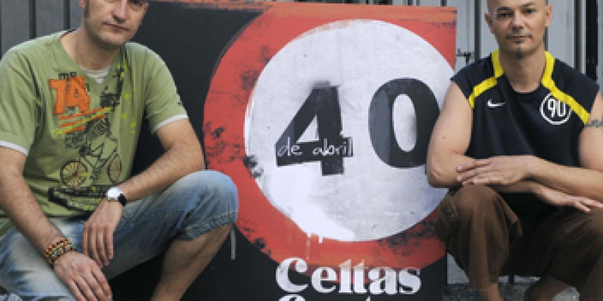 Celtas Cortos publicará 40 de abril en septiembre