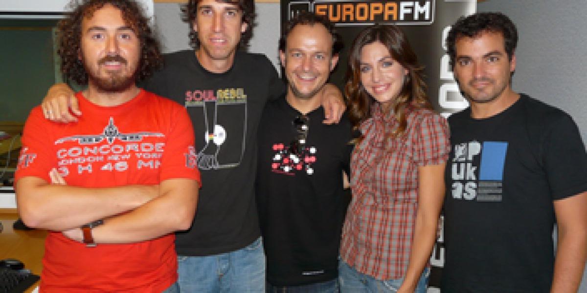 La Oreja de Van Gogh en Europa FM