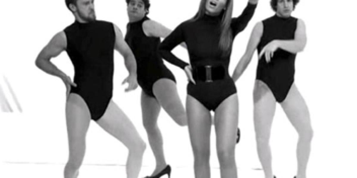 Timberlake baila con Beyoncé