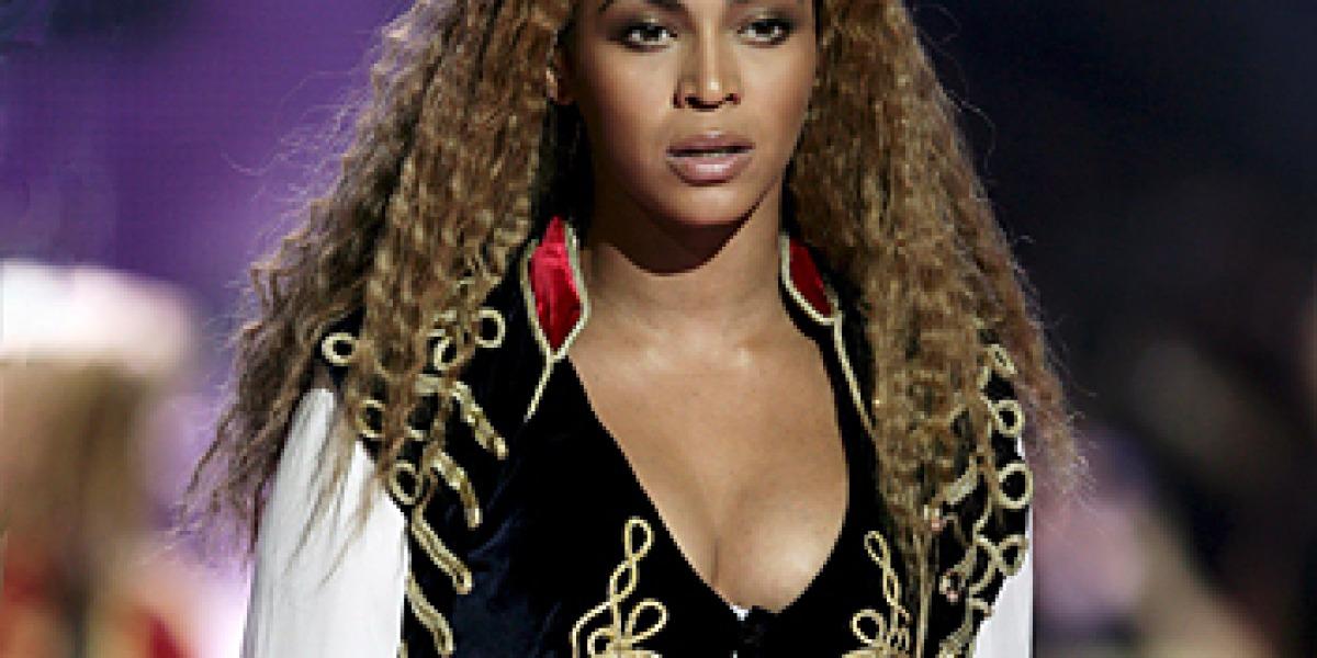Beyoncé en los premios mundiales de la música