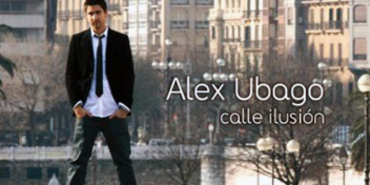 Álex Ubago en la portada de Calle Ilusión