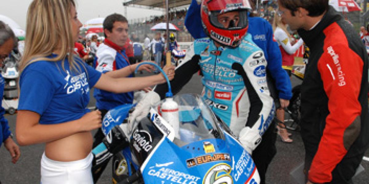 La lluvia, protagonista del GP de Italia