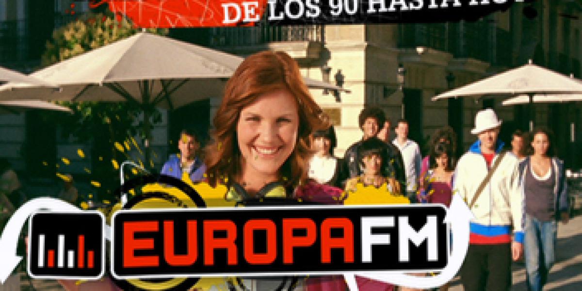 Imagen del spot de Europa FM
