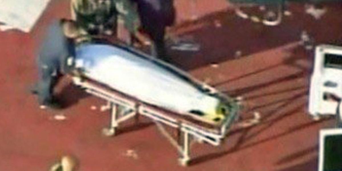 El cadáver de Michael Jackson fue trasladado en helicóptero