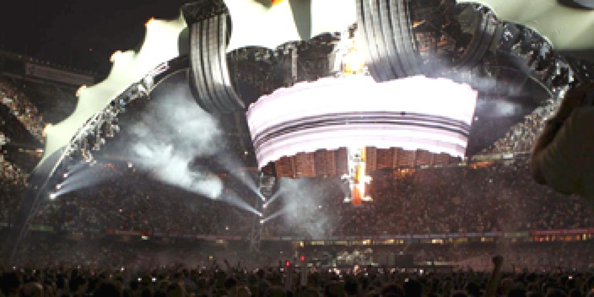Escenario de U2 360 Tour