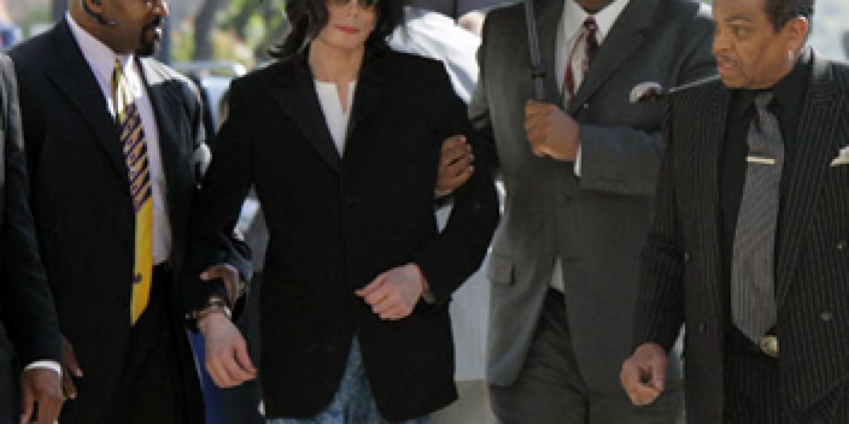 Michael Jackson ya se mostraba débil