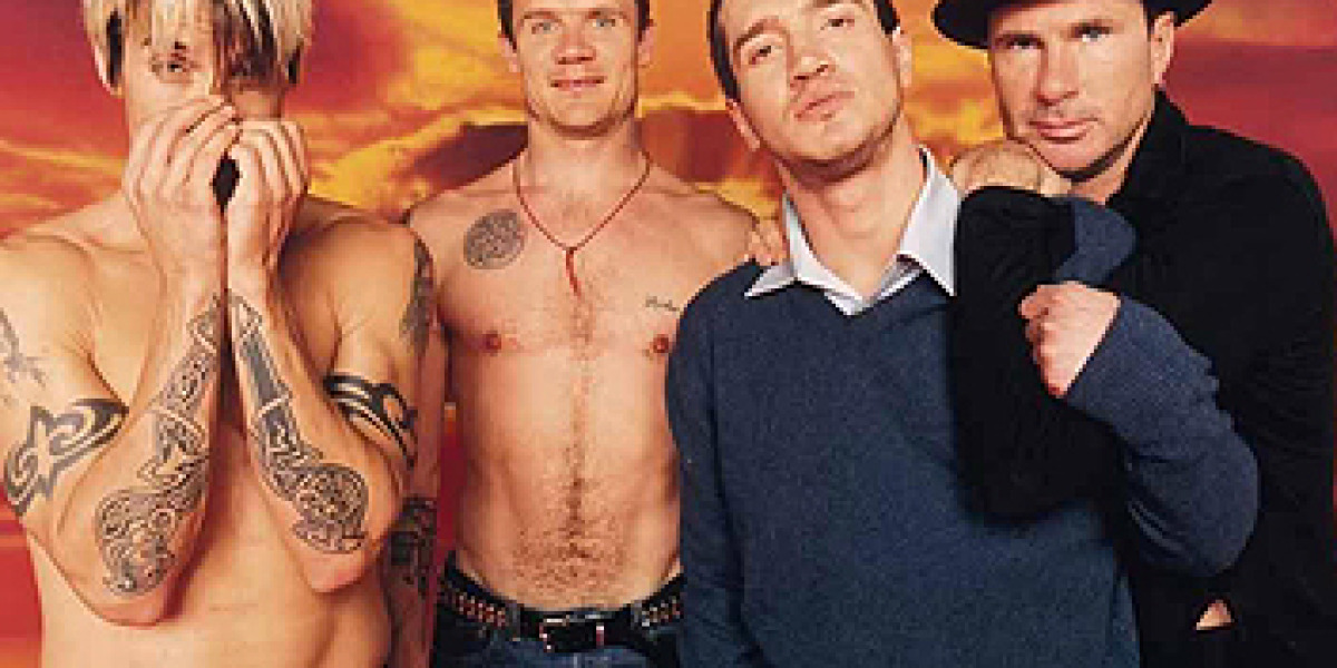 Los integrantes de Red Hot Chili Peppers