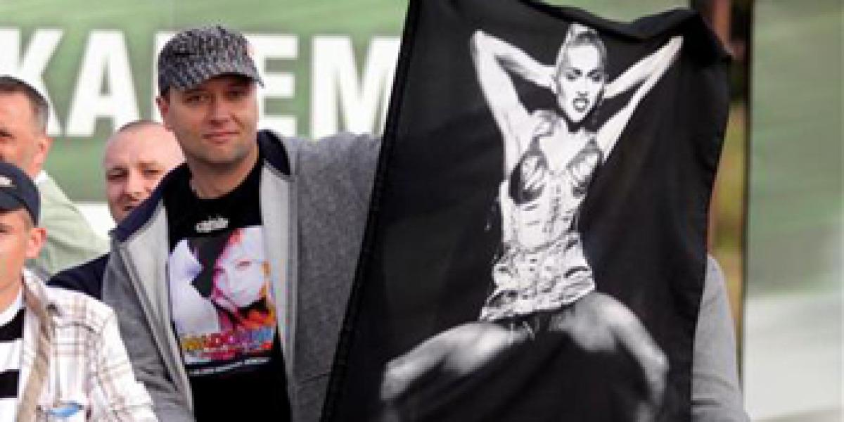 Madonna triunfa en Polonia