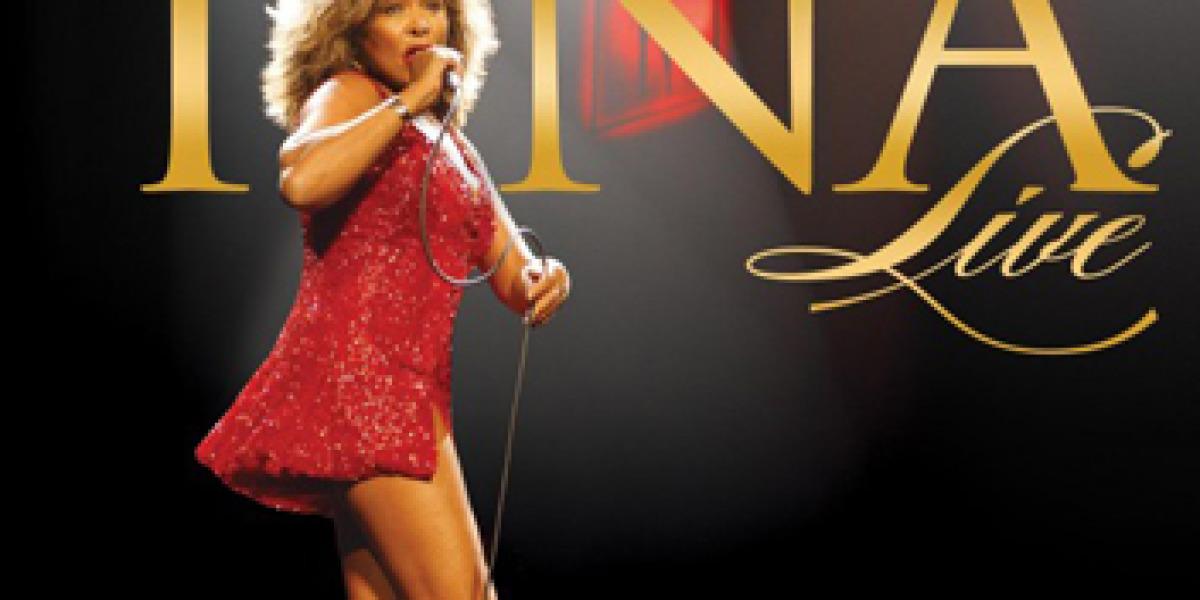 Portada de disco de Tina Turner Live