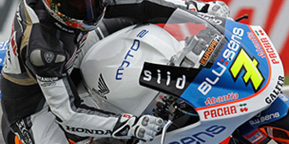 Alex Crivillé prueba en Assen la BQR Honda-Moto 2
