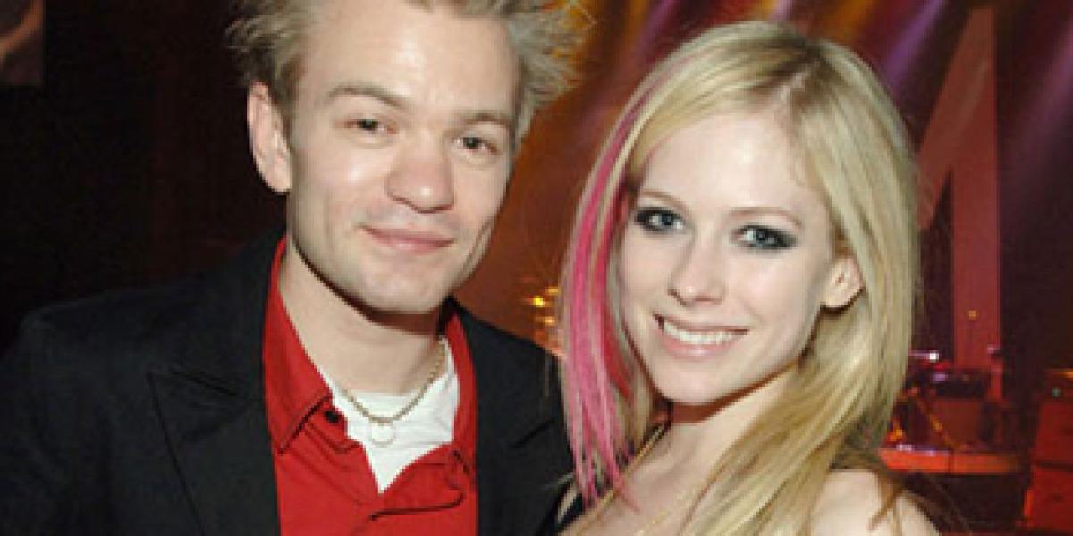 Avril y su ex marido Deryck