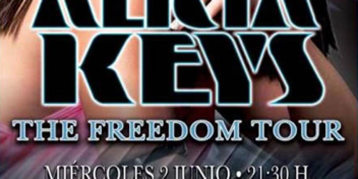 The Element Tour de Alicia Keys pasará por España en 2010