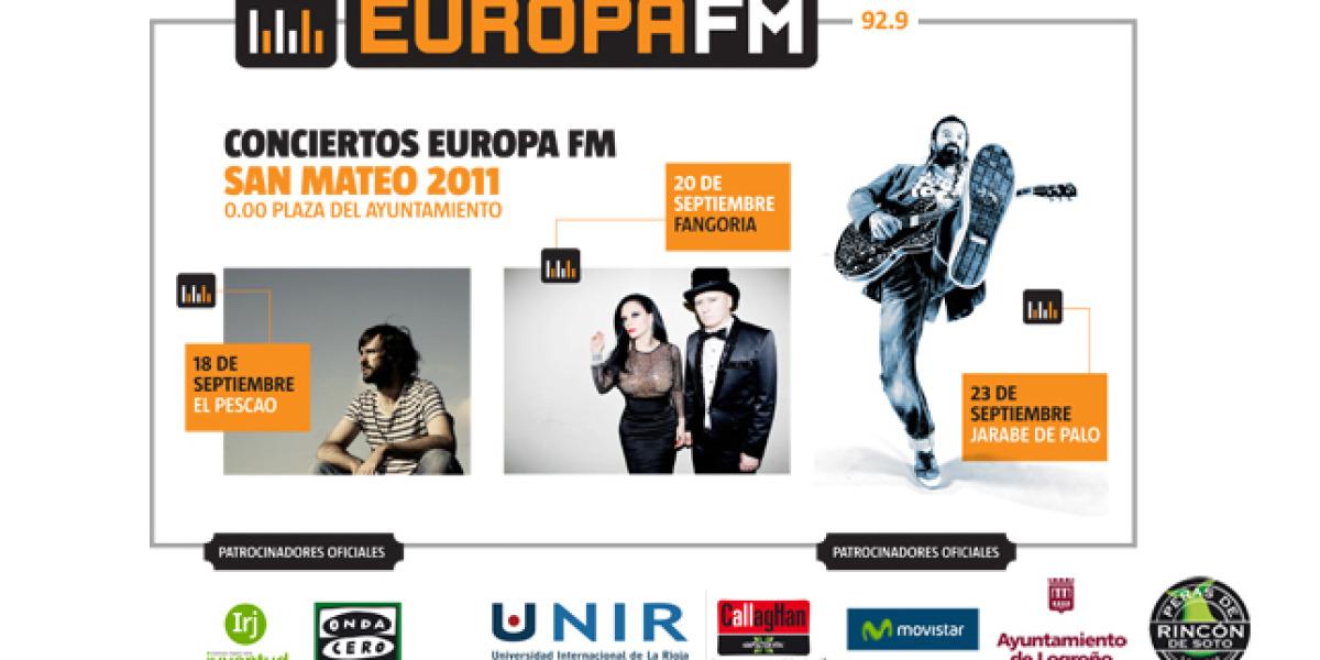 Los conciertos de Europa FM en las Fiestas de San Mateo 2011 (Logroño)