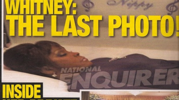 El 'National Enquirer' publica la última foto de Whitney Houston
