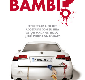 Cartel de '¿Quién mató a Bambi?'