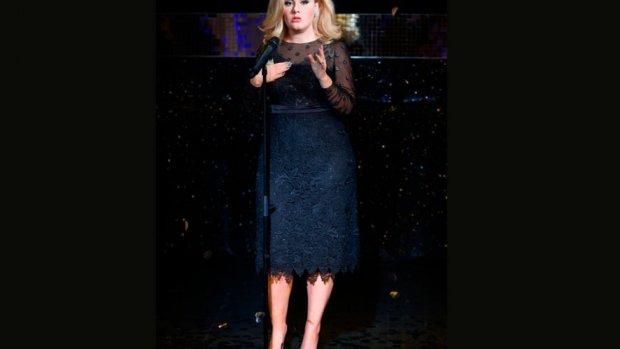Figura de cera de Adele