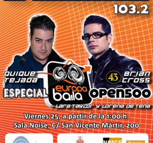 El concierto del Valencia Open 500 2013