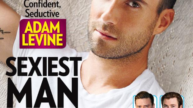 Adam Levine, el más sexy según 'People'