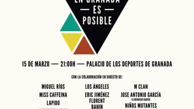 Cartel de 'En Granada Es Posible'