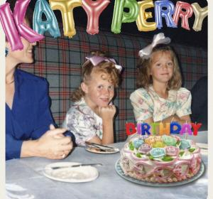 Portada de 'Birthday' de Katy Perry