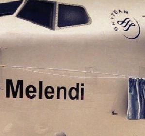Una compañía española de aviación nombra a su nueva adquisición 'Melendi'