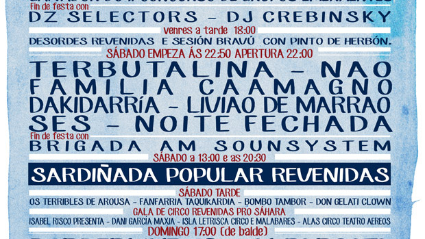 Cartel Festival Revenidas 2014