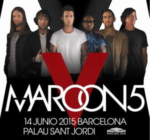 Maroon 5 visitará Madrid y Barcelona