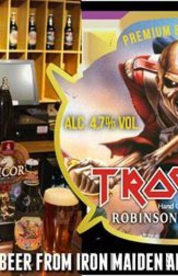 Trooper es la cerveza de Iron Maiden