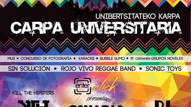 Carpa Universitaria de Pamplona 2014 / Unibertsitateko Karpa