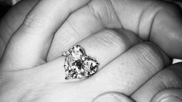 El anillo de compromiso de Lady Gaga