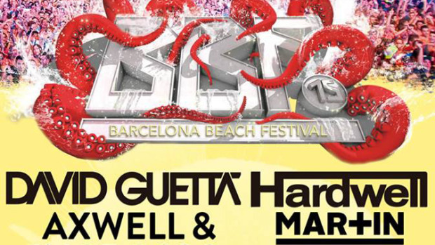 Barcelona Beach Festival 2015