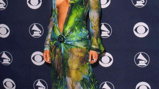 El icónico vestido verde de Jennifer Lopez