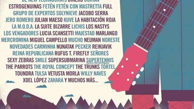 Cartel Festival Sonorama Ribera 2015
