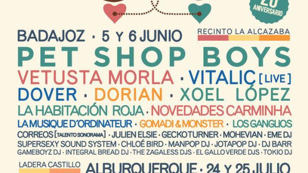 Cartel del Festival Contempopranea 2015